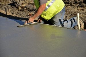 This is a picture of an asphalt sealcoating service.